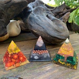Orgonite Pyramid Bundle